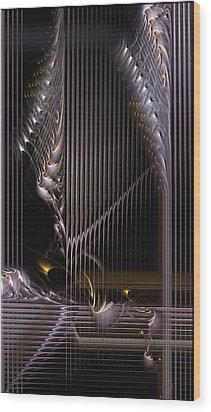 Incrementation Wood Print by Casey Kotas