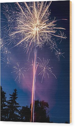 Independence Day 2014 1 Wood Print