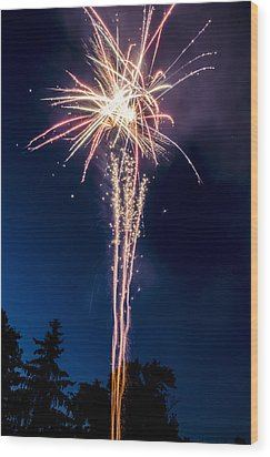 Independence Day 2014 7 Wood Print