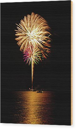 Independence Day Wood Print by George Buxbaum
