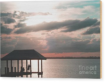 Wood Print featuring the photograph Indian River Lagoon by Megan Dirsa-DuBois