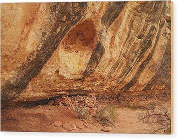 Indian Ruins  Wood Print by Jeff Swan