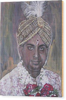 Indian Wedding Wood Print