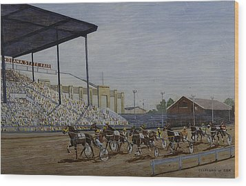 Indiana State Fair Wood Print by Clifford Cox