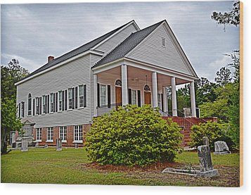 Wood Print featuring the photograph Indiantown Presbyterian Church by Linda Brown