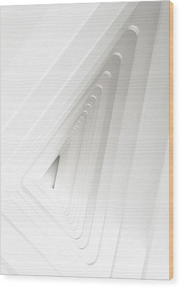 Infinite Arches Wood Print by Scott Norris