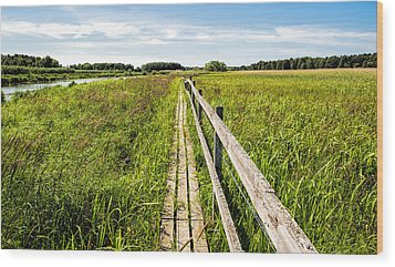 Wood Print featuring the photograph Infinity Way by Leif Sohlman