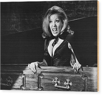Ingrid Pitt In The House That Dripped Blood  Wood Print by Silver Screen