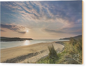 Inishowen - Donegal - Ireland Wood Print by Rod McLean