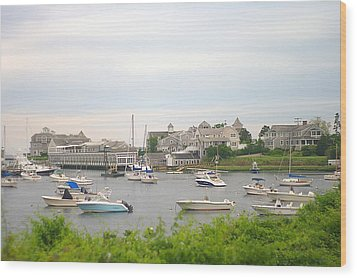 Wood Print featuring the photograph Inlet At Harwich Cape Cod Maine by Suzanne Powers