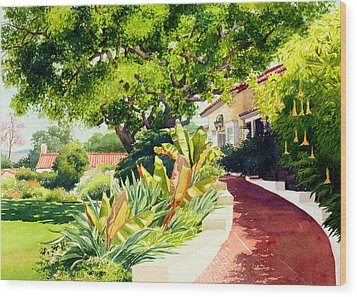 Inn At Rancho Santa Fe Wood Print