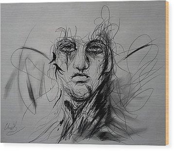 Inner Demons Wood Print by Christopher Kyle