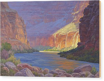 Inner Glow Of The Canyon Wood Print by Cody DeLong
