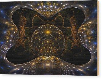 Inner Space Wood Print