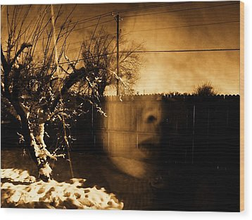 Wood Print featuring the photograph Innocents Reflection  by Jessica Shelton