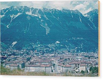 Innsbruck Austria 6 1962 Wood Print by Cumberland Warden