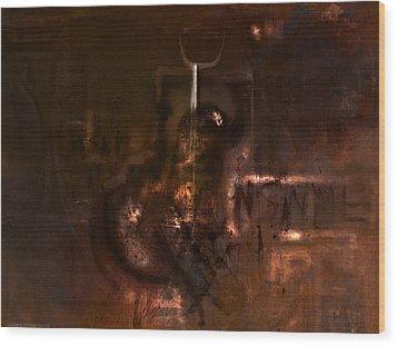 Insanity Wood Print