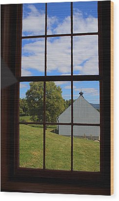 Wood Print featuring the photograph Inside Looking Out by Debra Kaye McKrill