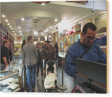 Inside World Famous Pawn Shop Wood Print by Kay Novy