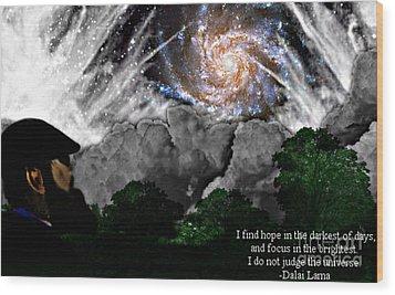 Inspirational #1 Wood Print by Thomas OGrady
