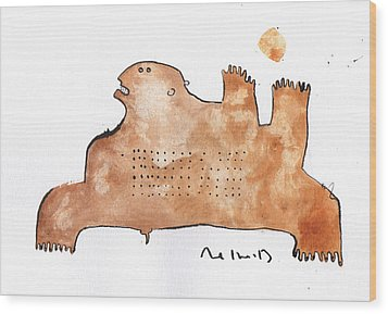 Instar No.2 Wood Print by Mark M  Mellon
