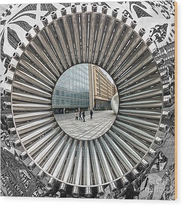 Institut Du Monde Arabe - Paris Wood Print