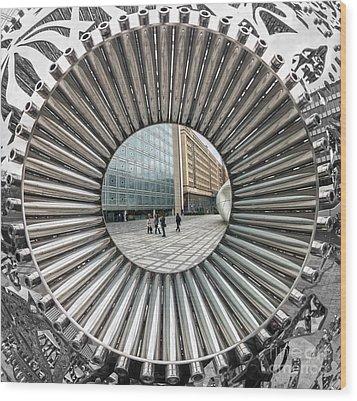 Institut Du Monde Arabe - Paris Wood Print by Luciano Mortula
