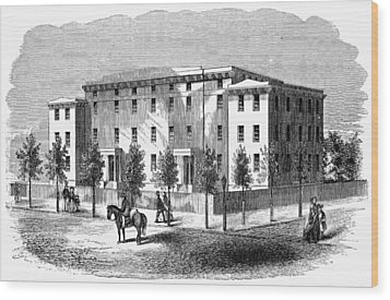 Institute For Blind, C1850 Wood Print by Granger