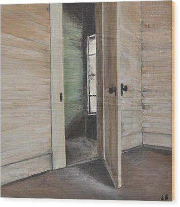 Interior Doorway Wood Print