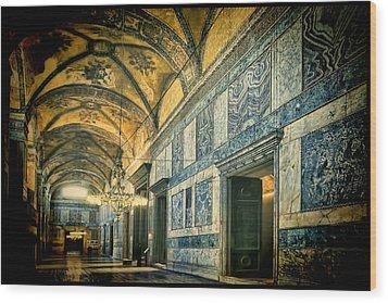 Interior Narthex Wood Print