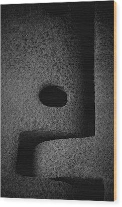 Interlock Wood Print by Odd Jeppesen