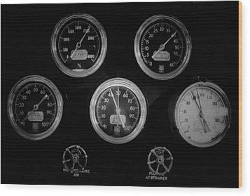 Internal Mechanics Uss Bowfin Pearl Harbor V3 Wood Print by Douglas Barnard