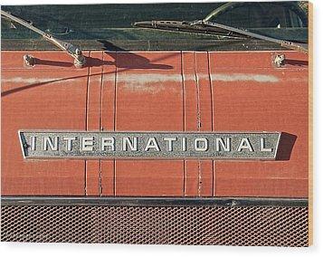 International Wood Print
