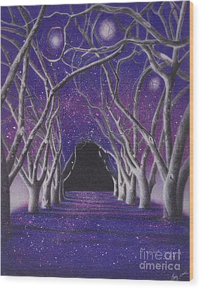 Into The Dark Wood Print by Elizabeth Dobbs