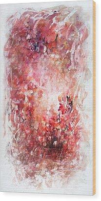 Into The Enchantment Wood Print by Rachel Christine Nowicki