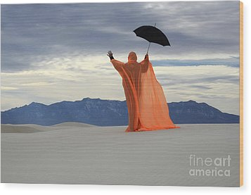 Into The Mystic 3 Wood Print by Bob Christopher
