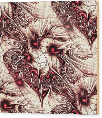Invasion Wood Print by Anastasiya Malakhova