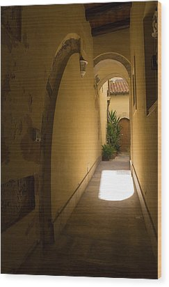 Wood Print featuring the photograph Invitation by Georgia Mizuleva