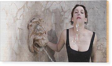 Iona Lynn 1-7 Wood Print by David Miller