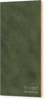 iPhone Green Olive Drab Wood Print by D Wallace