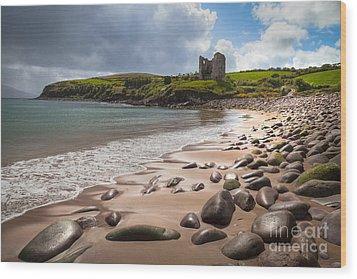 Ireland - Castle Minard Wood Print