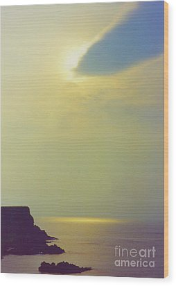 Ireland Giant's Causeway Ethereal Light Wood Print by First Star Art
