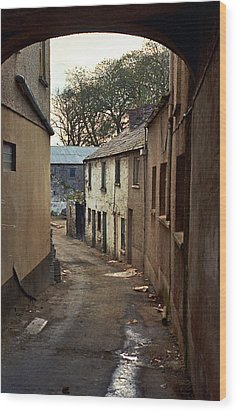 Irish Alley 1975 Wood Print