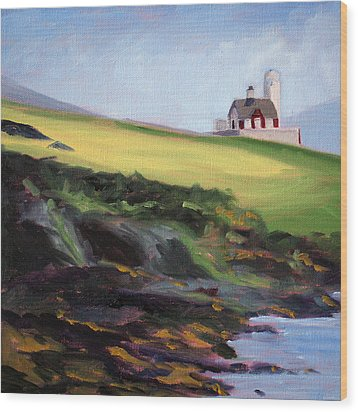 Irish Lighthouse Wood Print
