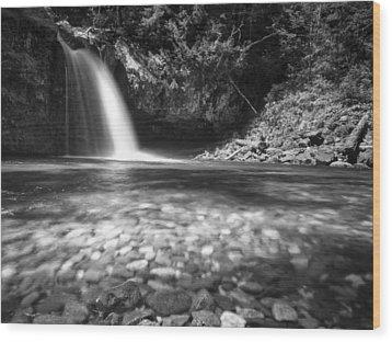 Iron Creek Falls Wood Print