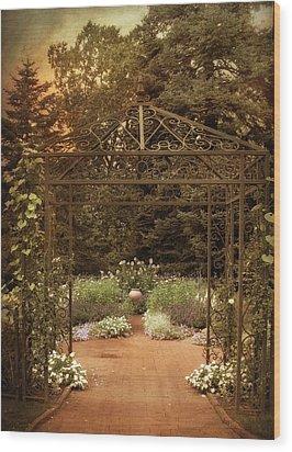 Iron Entrance Wood Print by Jessica Jenney