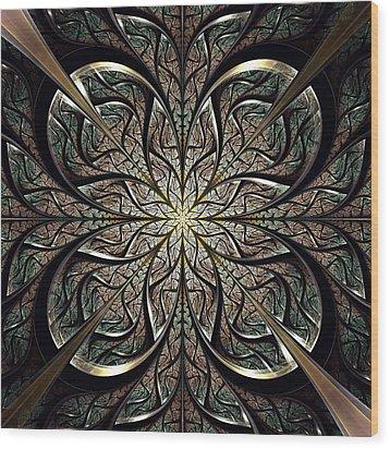 Iron Gate Wood Print by Anastasiya Malakhova