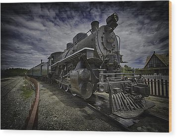 Wood Print featuring the photograph Iron Horse by Russell Styles