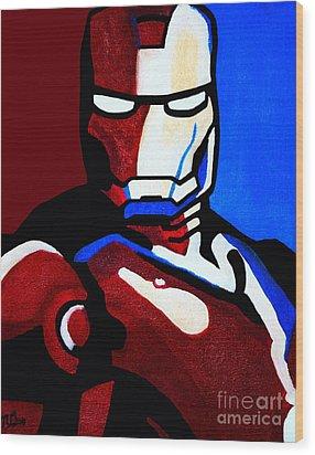 Iron Man 2 Wood Print
