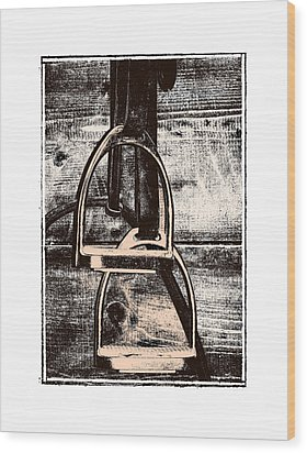 Irons Wood Print by JAMART Photography